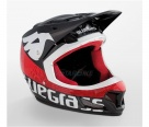 Велошлем Bluegrass Brave Black/Red L 58-60см