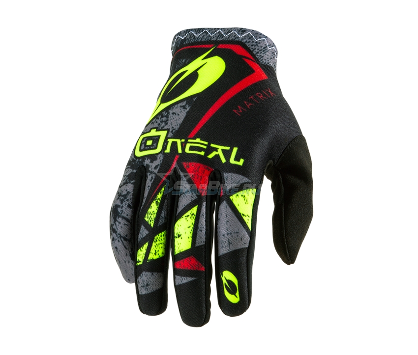 Перчатки O'Neal Matrix Zen Neon Yellow S/8