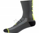 Носки Fox Logo Trail 8-inch Sock Graphite/Yellow S/M