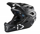 Велошлем Leatt DBX 3.0 Enduro Helmet Black/White S 51-55cm