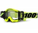 Маска 100% Accuri Forecast Fluo Yellow Clear Lens