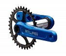 Шатуны Race Face Atlas 170 Blue