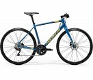 Велосипед Merida Speeder 400 К:700C Р:ML(54cm) SilkOceanBlue/Gold/Black