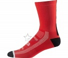 Носки Fox Logo Trail 8-inch Sock Flame Red L/XL